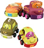 B. Wheeee-ls Pull Back Toy Vehicle With Sounds - 2 Vehicles per Order Assortment