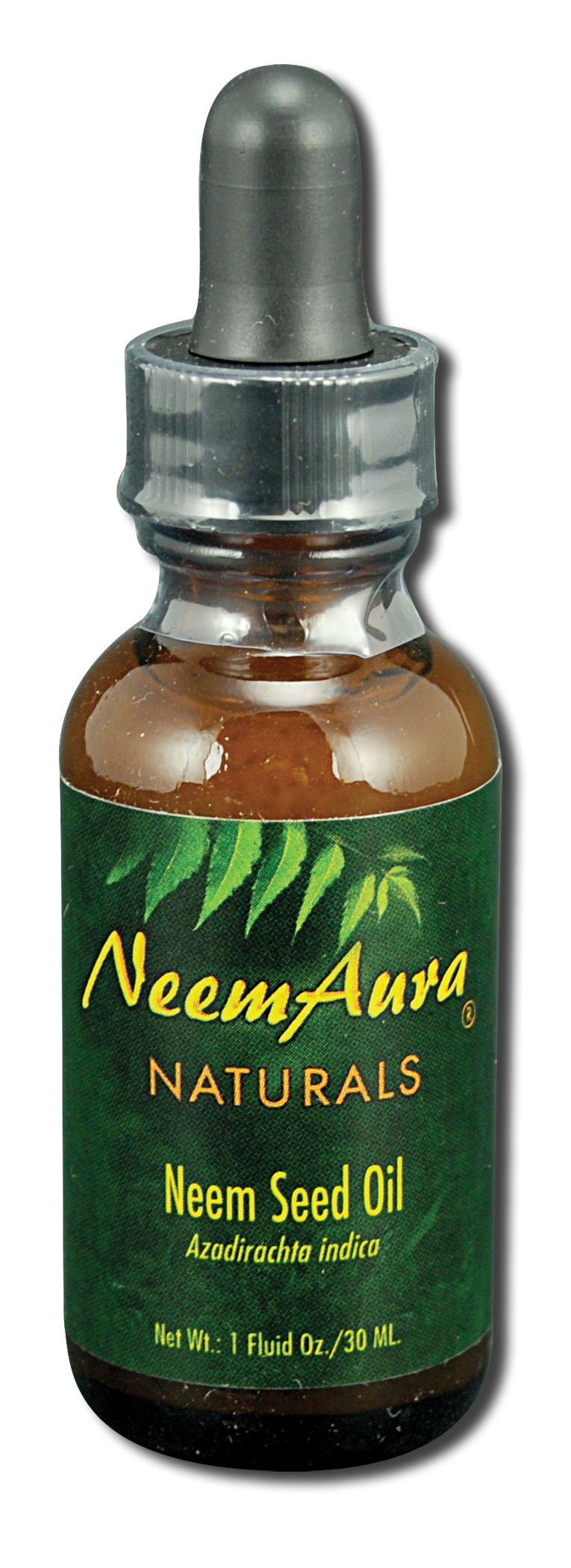 Neem Aura Naturals Neem Seed Topical Oil, 1 Ounce - 3 per case.