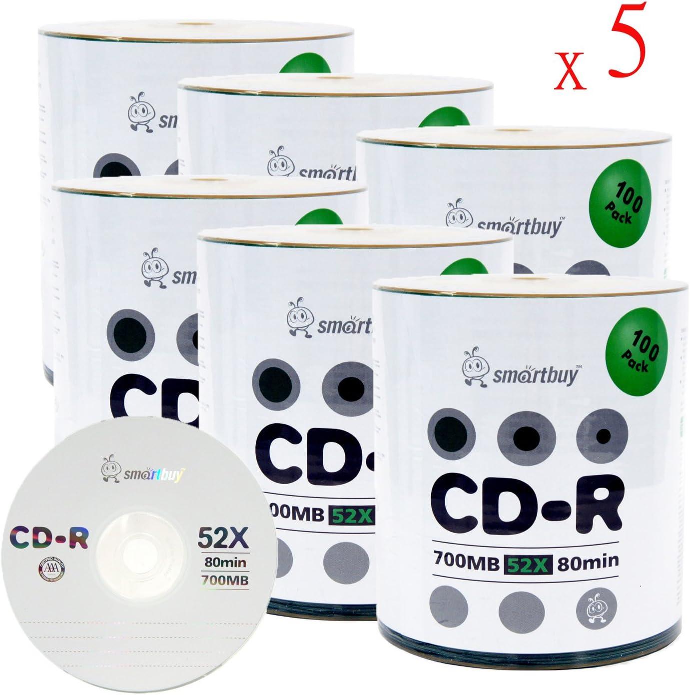 Smart Buy Logo 3000-Pack CD-R 700 MB 52 X en blanco discos ...