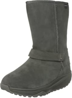 Skechers Shape Ups Boots Brown Suede 24857 Womens Size 9