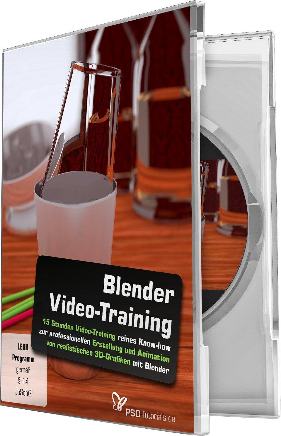 Blender-Video-Training: Power pur für 3D-User!