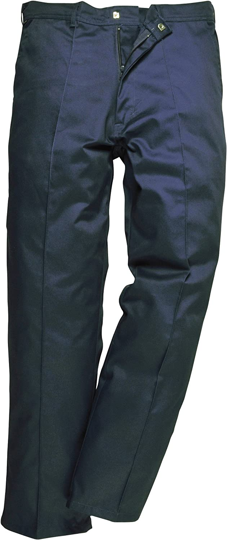 TALLA 28. Portwest 2885 - Preston Pantalones, color Armada, talla 28