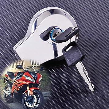 For Yamaha Virago 400 535 750 1100 Virago XV125 High Quality Aluminum Fuel Gas Tank Cap Cover with Key