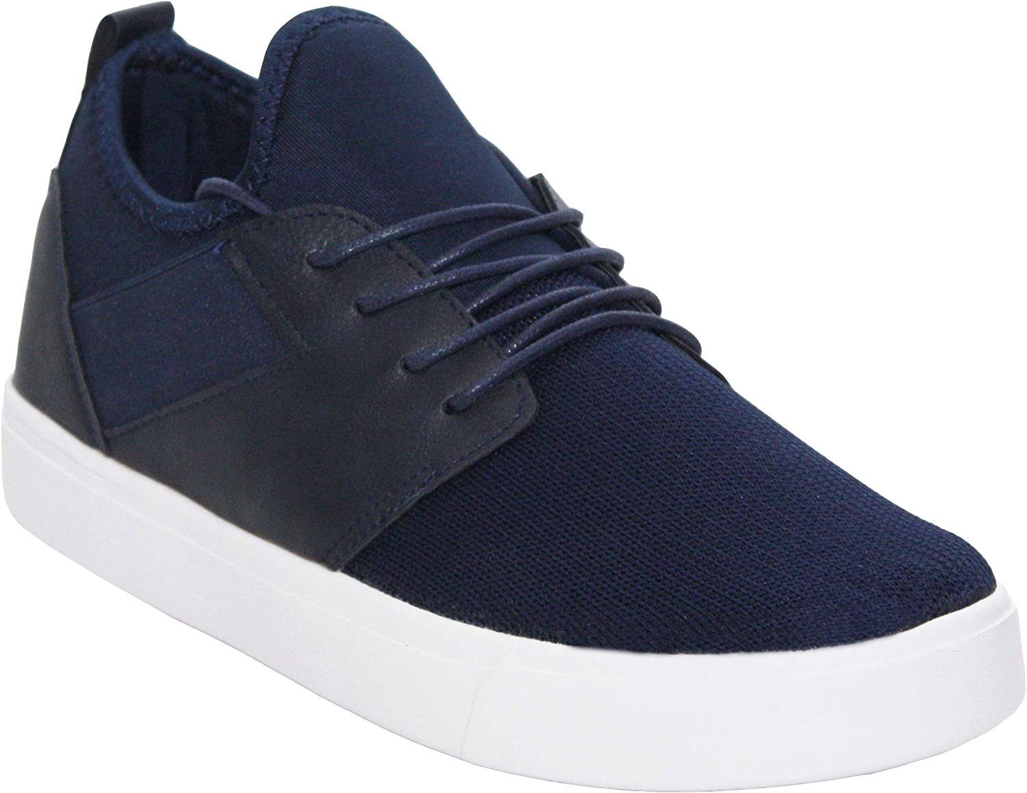A&H Footwear. Mens Air Tech Lace up Running Fitness Sports Gym Sneakers Trainers Shoes Sizes UK 7-12 Navy