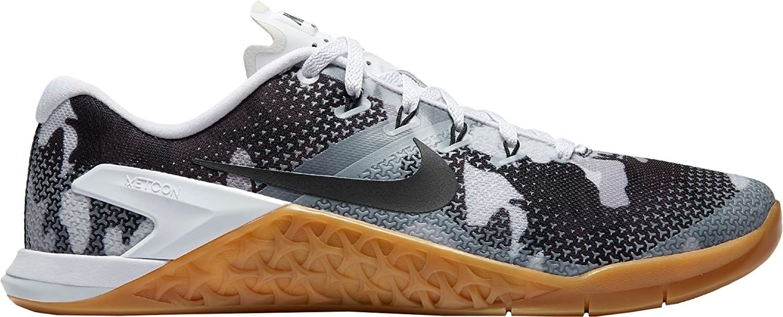 NIKE Men's Metcon 4 Training Shoes B074NKDC8W 9 D(M) US|White/Camo