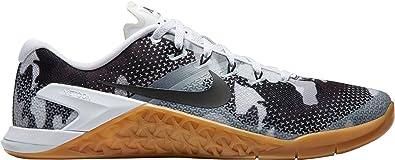 new concept b6735 c8915 NIKE Men s Metcon 4 Camo Training Shoes (White Camo,11 D(M