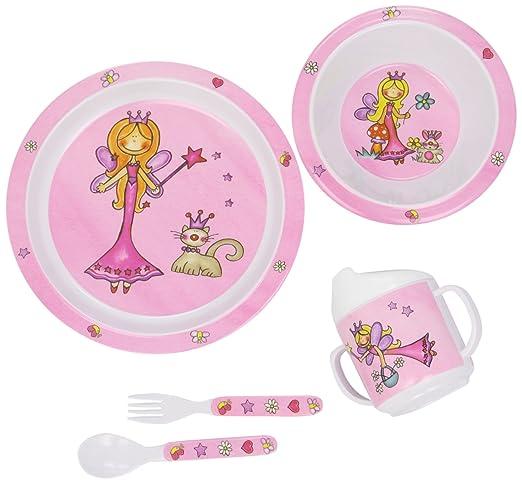 6 opinioni per Bieco 04000265- Set di stoviglie per bambini, motivo: Principessa, 5 pz.