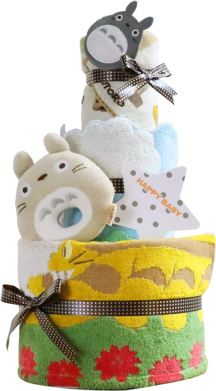 【おむつケーキ研究所】となりのトトロ おむつケーキ