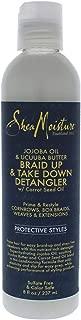 product image for Shea Moisture Jojoba Oil & Ucuuba Butter Braid Up & Take Down Hair Detangler, 8 fl oz
