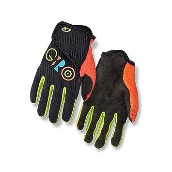 Modestil Sonderangebot Modestile Giro DND Jr II Kinder Fahrrad Handschuhe Lang Schwarz/Gelb/Orange 2019
