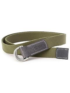 Canvas D-ring Belt 118-13-1147: Olive