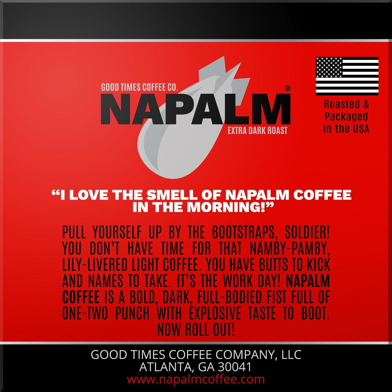 How warm napalm