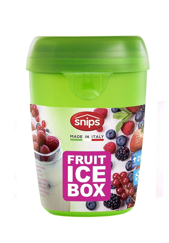 0.5 Litri Verde Snips 000451 Fruit Ice-Contenitore per Frutta con Ghiaccio