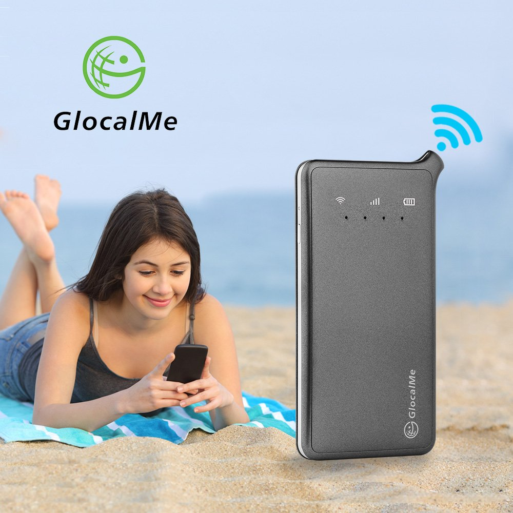 GlocalMe U2 4G Mobile Hotspot - Unlocked WIFI Hotspot with Annual Unlimited Data Plan for USA by Glocalme (Image #7)
