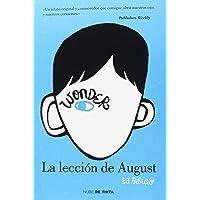 Wonder - La lección de August (NUBE DE TINTA)