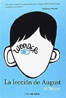 Wonder - La Lección De August (NUBE DE