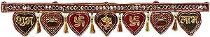 Crafts'man Toran/Door Valance - Diwali Decorations Hanging Door Valance/Shubh Deepawali Door Decoration Bandhanwar. Indian Hindu Festival Diwali Home Decoration