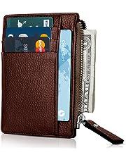 Slim Wallet Credit Card Case Sleeve Card Holder 6 Card Slots Compact Wallet