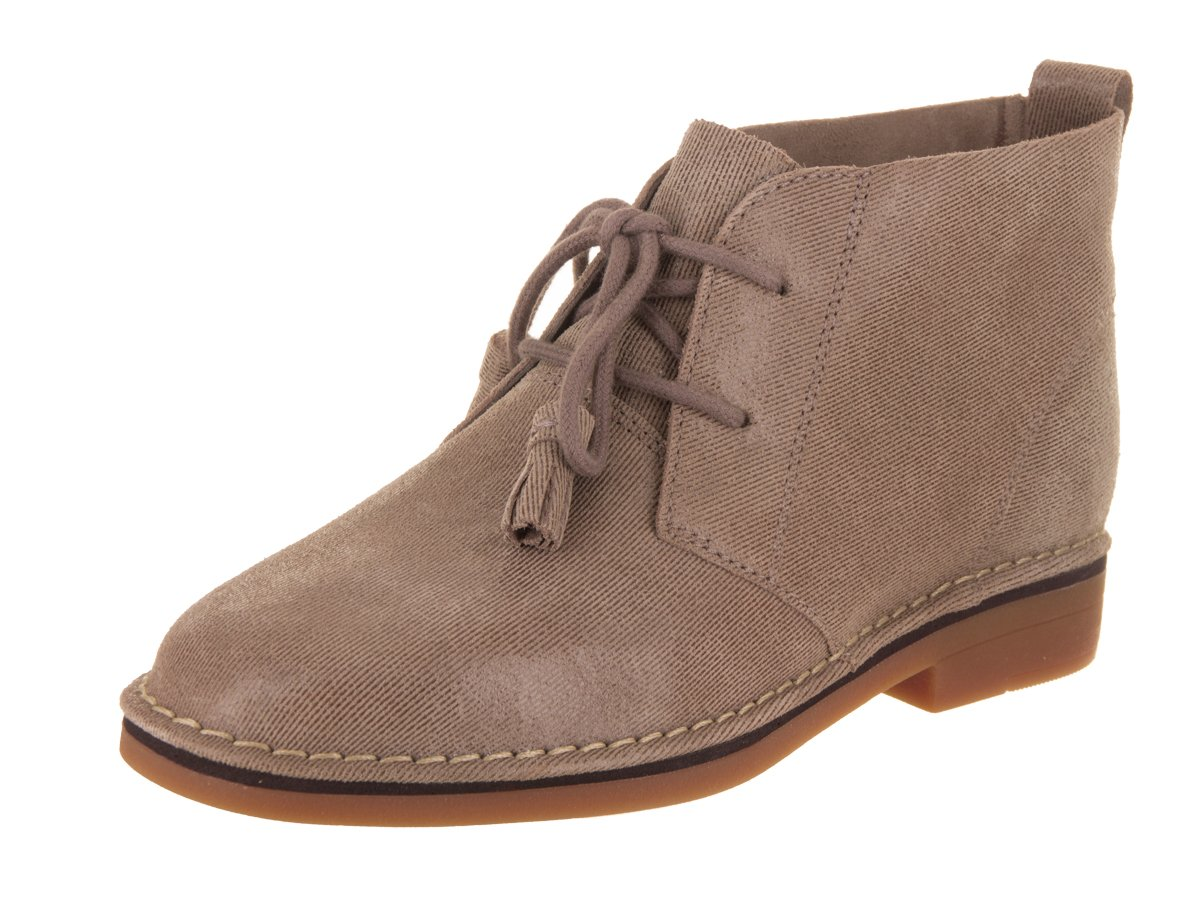 Hush Puppies Women's Cyra Catelyn Boot B01EICN4G2 10 B(M) US|Taupe Shimmer Suede