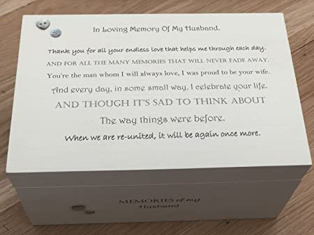 Shabby Chic Personalised Ltd Personalised Memory Box Husband