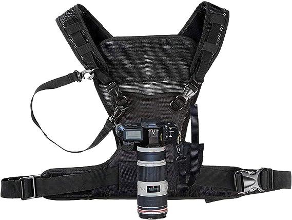 Nicama - Chaleco con arnés para cámara con bujes de Montaje y ...