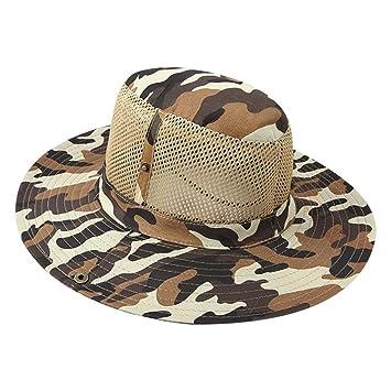 Amazon.com  Outdoor Boonie Sun Hat for Men   Women 5507a7fb33c