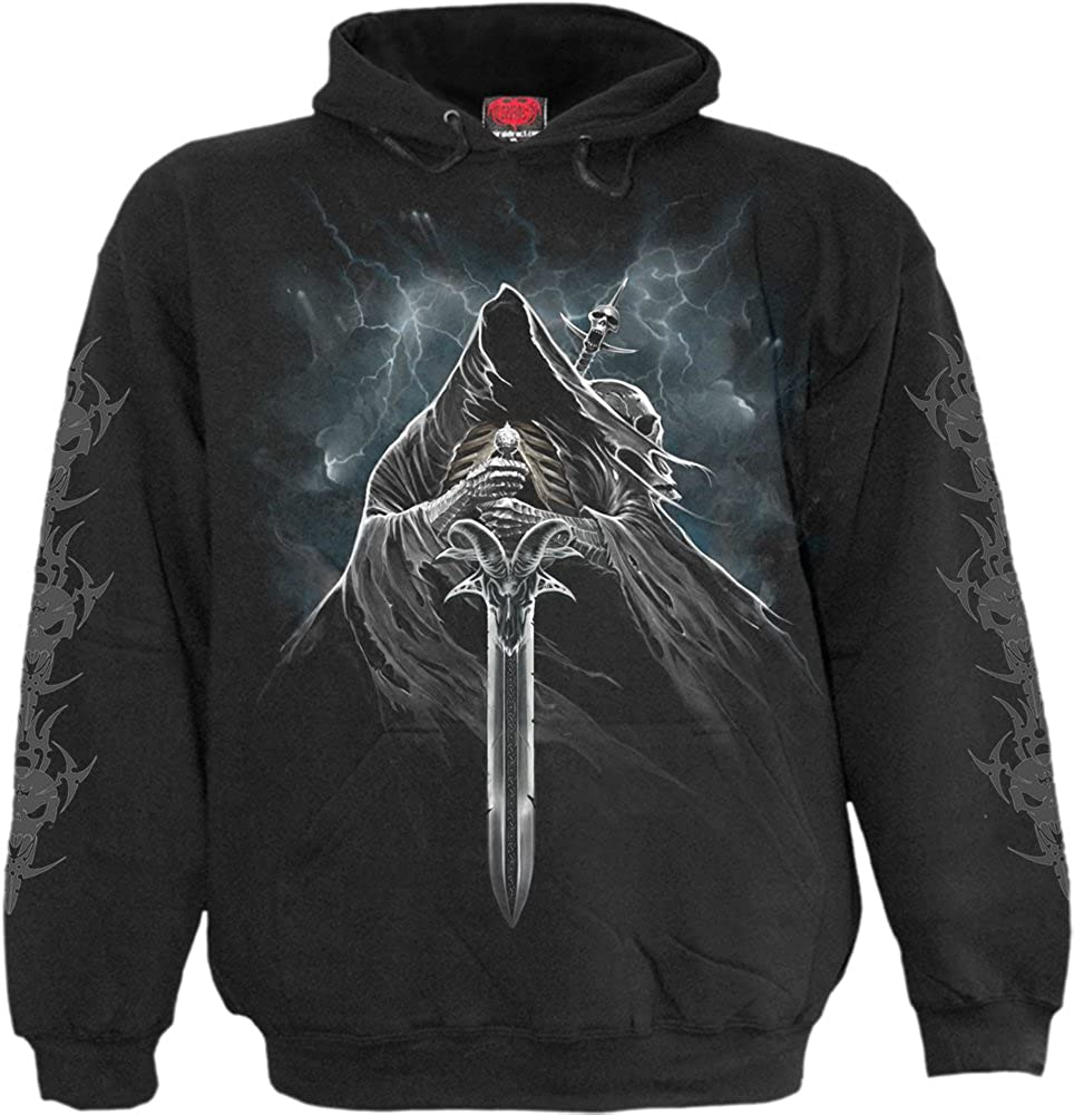 Spiral - GRIM RIDER - Hoody Black Spiral Direct Ltd L027M451