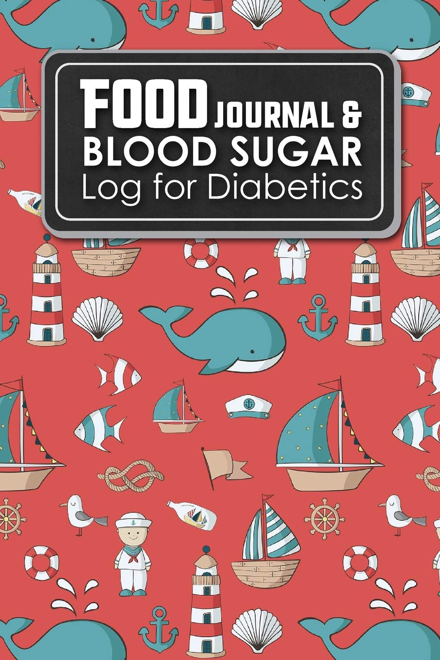 Food Journal Blood Sugar Log For Diabetics Blood Glucose