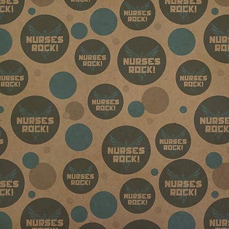Review Nurses Rock RN Caduceus