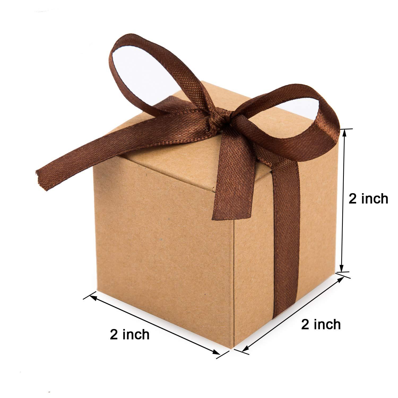 Amazon.com: AWELL - Caja de corazón con cinta (2.0 x 2.0 x ...