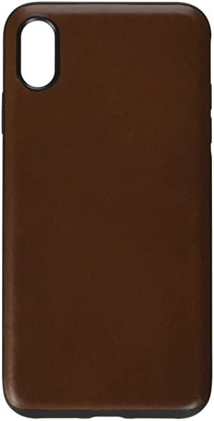 best service 8b898 74446 Nomad Rugged Leather Case for iPhone Xs Max - Rustic Brown