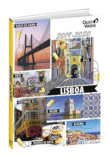 Agenda Escolar 1 Día/Página 2019-2020 Cities, 12x17cm, diseño Lisboa