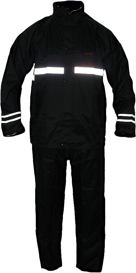 JDC Combinaisonde pluieint/égrale pour Moto M Noir Shield 34L