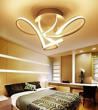 PlafondSalle Art De Séjour Chambre Moderne Lampe À Led fIy7gbvY6