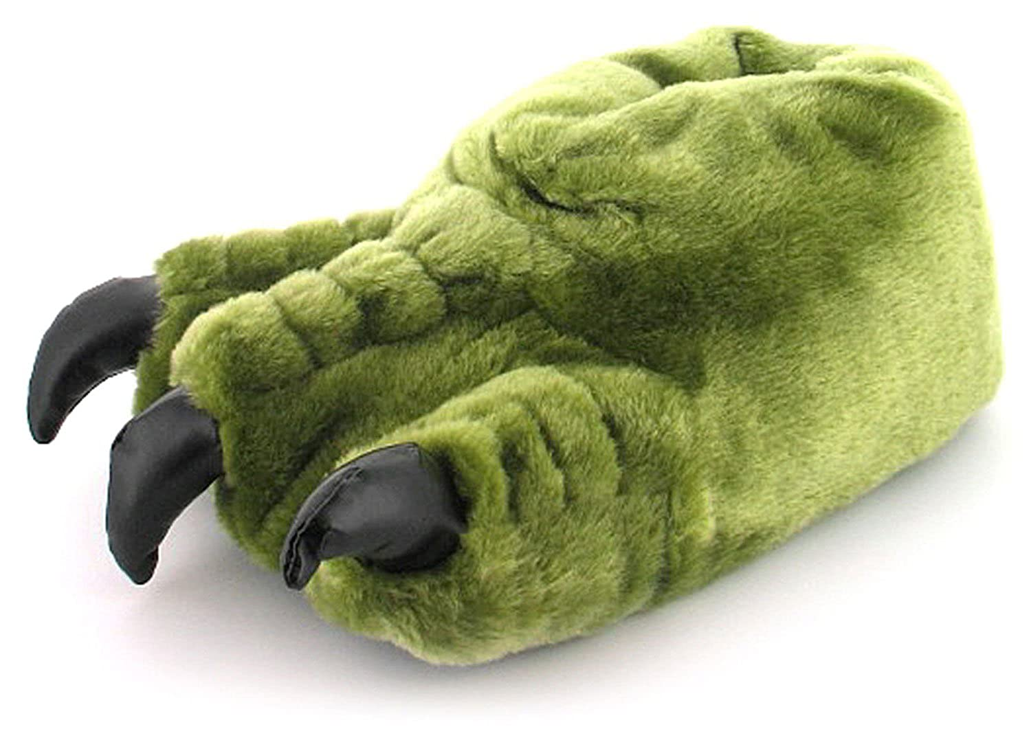 Childrens Plush Monster Claw Fun Slippers XG_6596