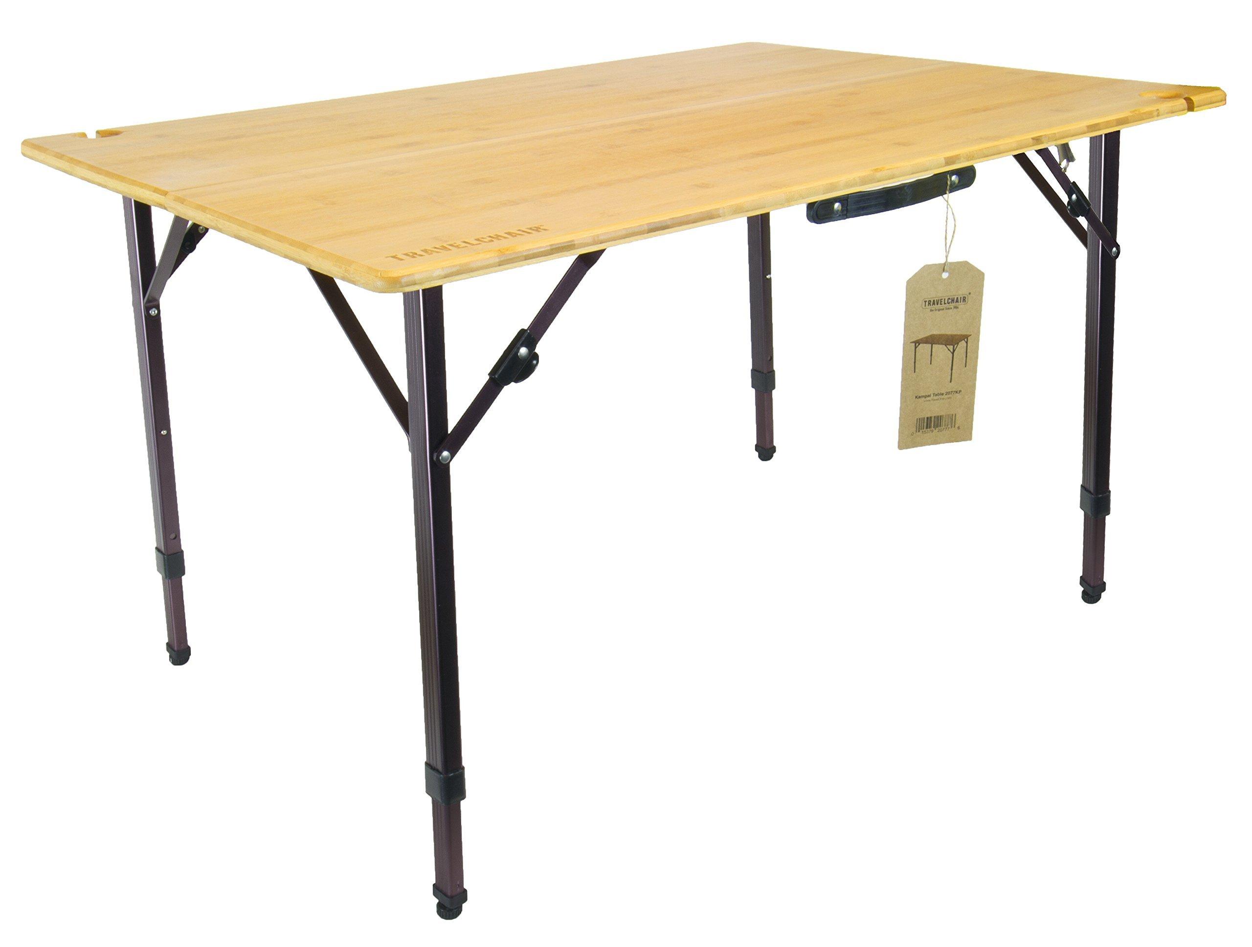 TravelChair Kanpai Bamboo Wine Table
