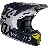2018 Fox Racing V3 Draftr Helmet-Light Grey-XL