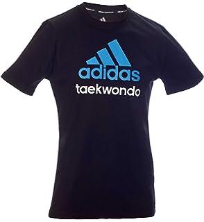 adidas Community line T Shirt Judo Performance BlackWhite