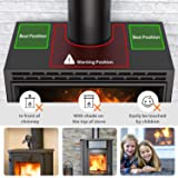 Dr.meter 4-Blade Stove Fan, Heat Powered Stove
