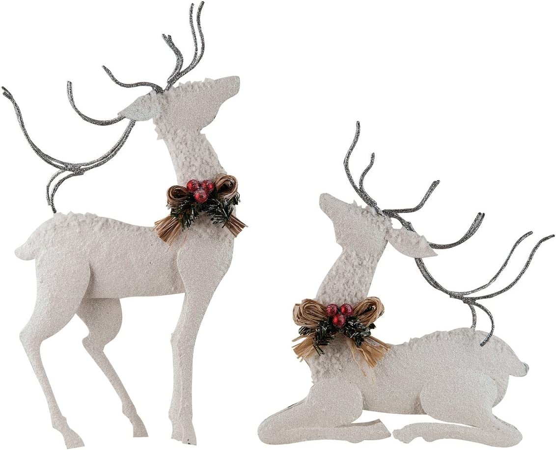 Winter White Deer Assorted 2