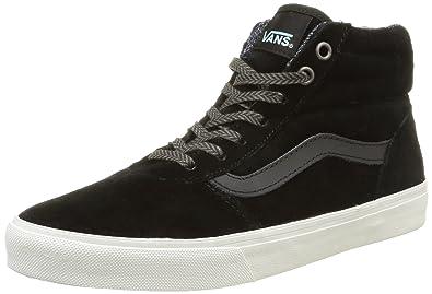 Vans W Milton Hi MTE, Women's Low-Top Sneakers, Black (MTE/