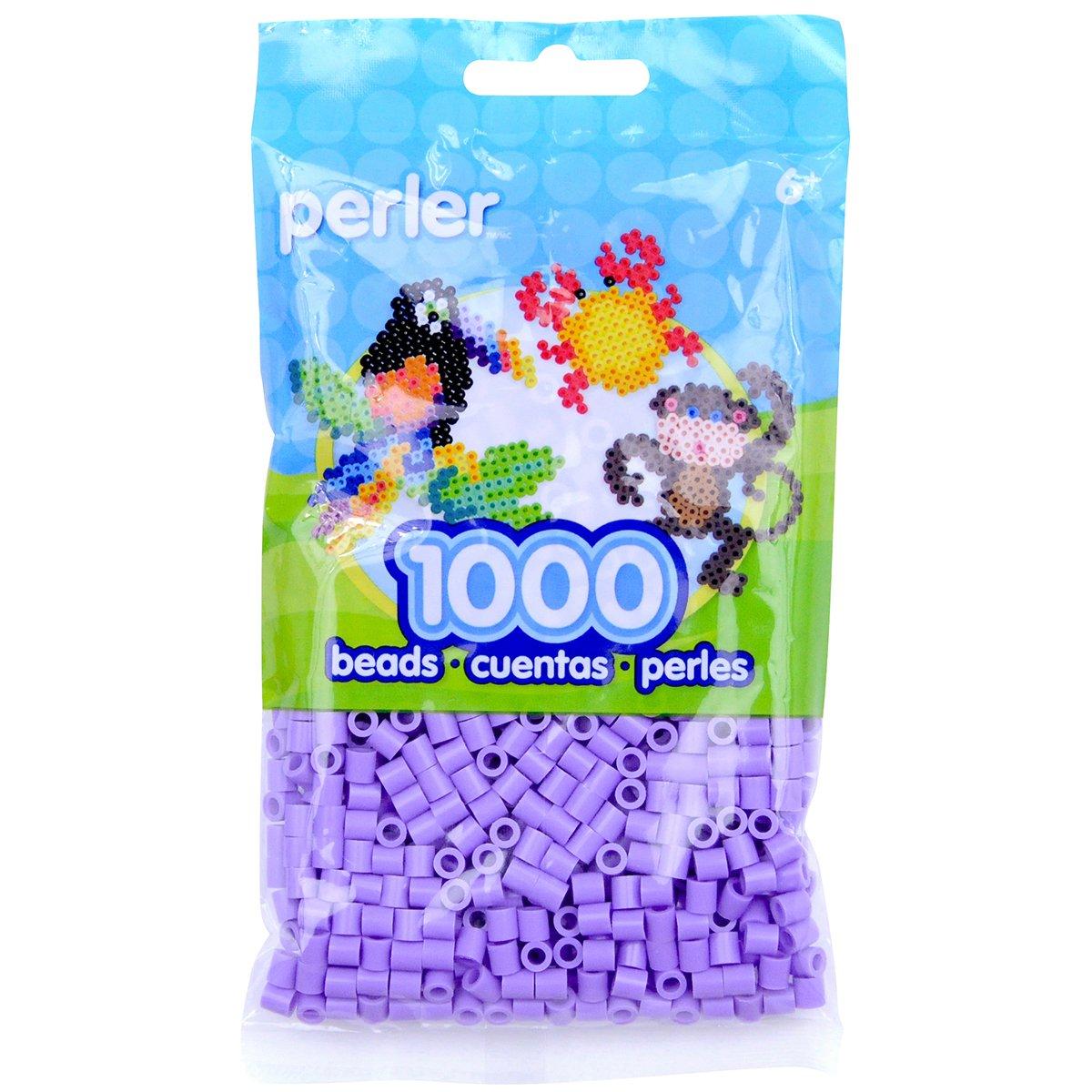 Perler Hama Beads 1000 Unidades Color Violeta Lavanda (xsr)