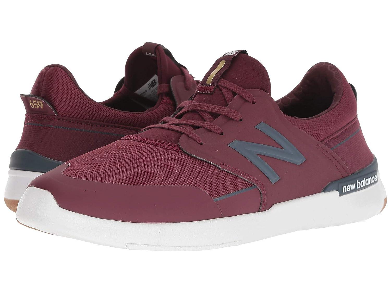 【超安い】 [ニューバランス] メンズランニングシューズスニーカー靴 AM659 [並行輸入品] cm cm B07JRFWXSF Burgundy [並行輸入品]/Gum 27.0 cm D 27.0 cm D|Burgundy/Gum, STC Sneaker:20ce2255 --- shrigajendrajewellers.com