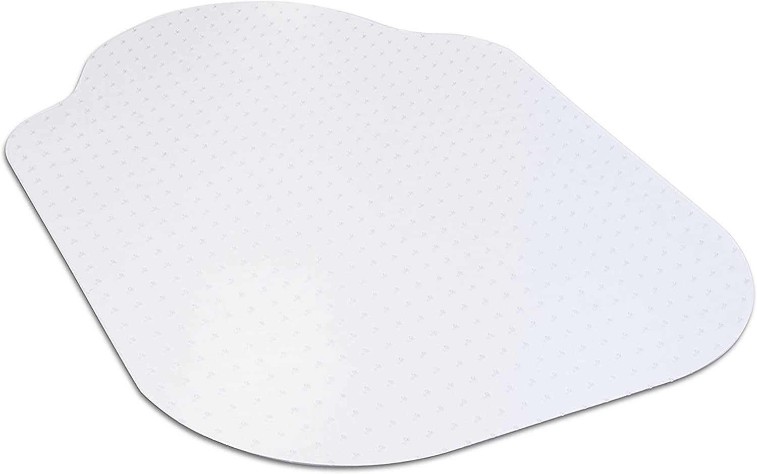 """Evolve Modern Shape 33"""" x 44"""" Clear Office Chair Mat with Lip for Low Pile Carpet, Made in The USA by Dimex, (C5B5003G) : Office Products"""