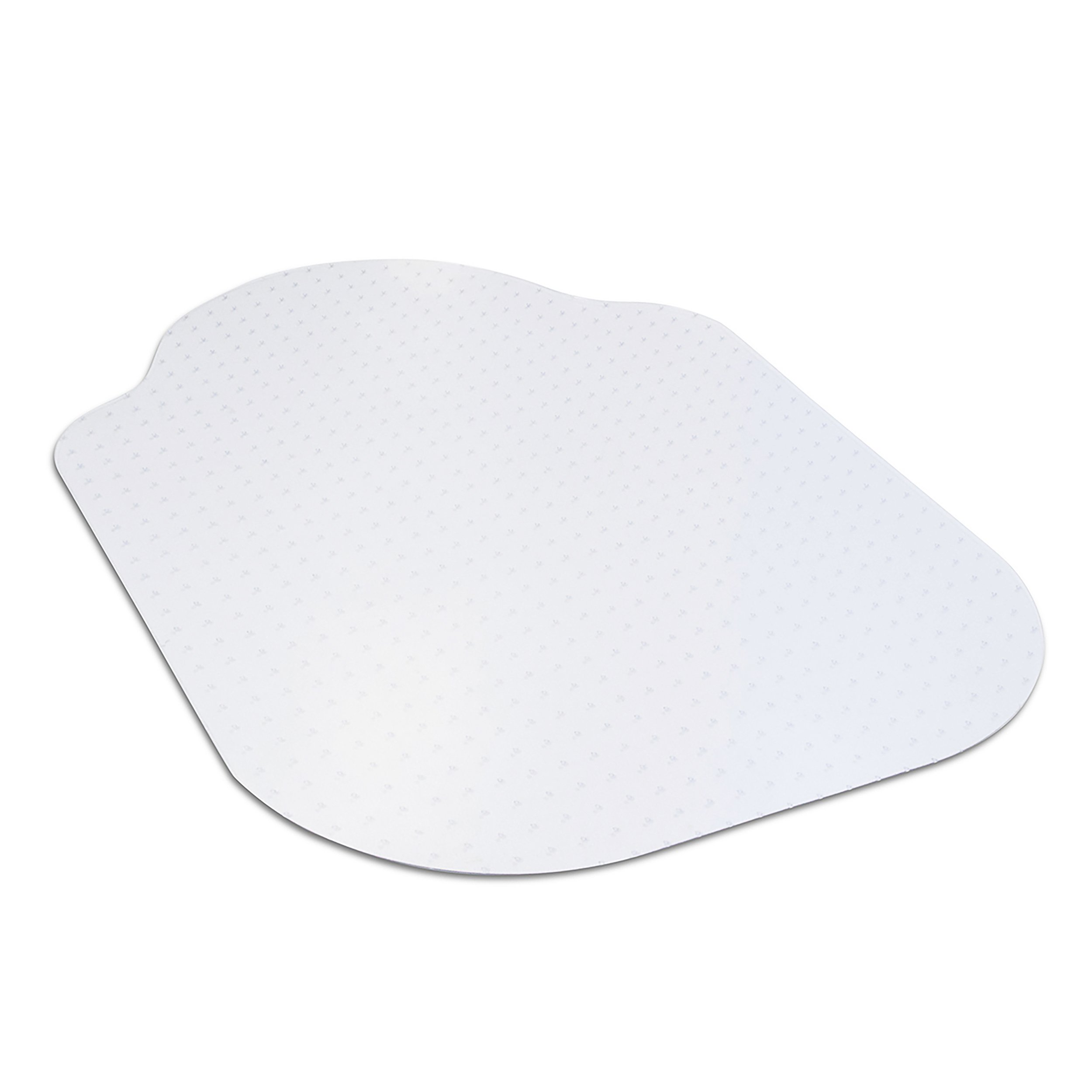 Evolve Modern Shape 33'' x 44'' Clear Office Chair Mat with Lip for Low Pile Carpet, Made in The USA by Dimex, Phthalate Free (C5B5003G) by EVOLVE