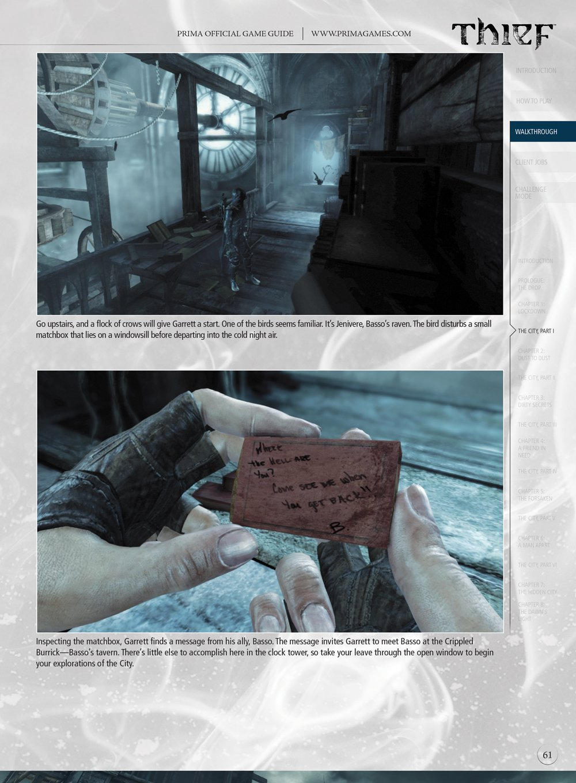 thief prima official game guide prima official game guides rh amazon com Skyrim Prima Guide.pdf Skyrim Prima Guide