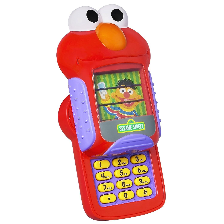 Amazon Playskool Sesame Street Elmo s Cell Phone Toys & Games