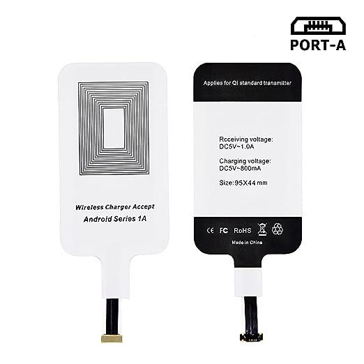 9 opinioni per LEAPCOVER® Universale Alta Qualità QI Wireless Charging Caricabatterie