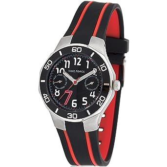 100% de haute qualité 100% de haute qualité disponible Montre TIME FORCE Quartz - Affichage Bracelet Caoutchouc et ...