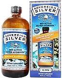 Bio-Active Silver Hydrosol No Dropper Bottle, 10 ppm - 16 fl. oz (473 ml) by Sov